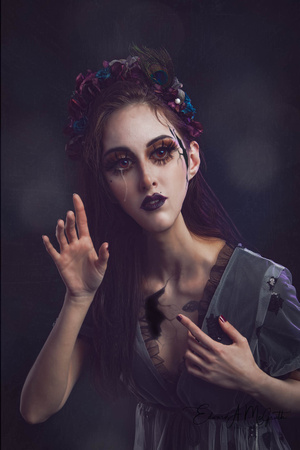 Gothic Doll Surreal Art Photography